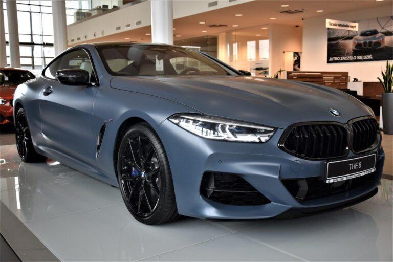 | BMW 850i First Edition | 5 sztuk w Polsce | 530km | Carbon |