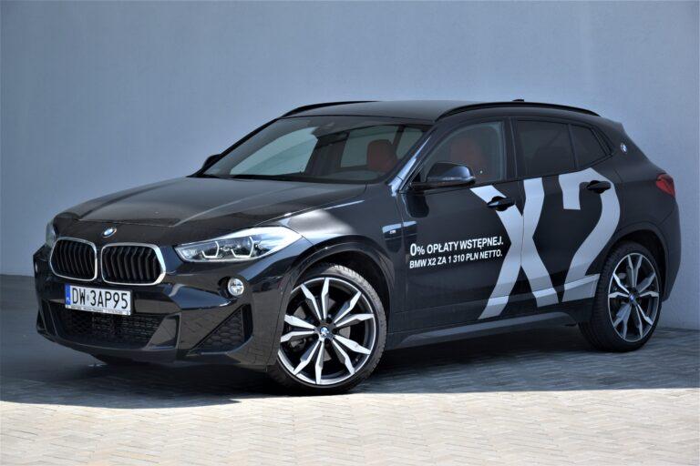 | BMW X2 20d | Samochód demonstracyjny | Model Msport |
