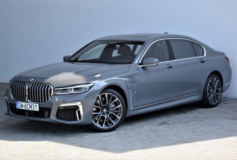   BMW 745Le   Auto demonstracyjne   Dostępny od ręki  